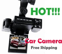 security digital HD video dual camera for car, dual camera record atuomatically and provide all the security for you!