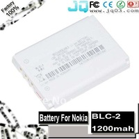 Genuine 1200mah BLC-2 battery For Nokia 1220 1221 1260 1261 2260 3310 3315 3320 3330 3335 3350 3360 3385 3390 ( Free Shipment )