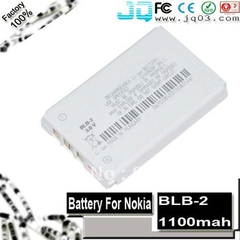 Genuine 1100mah BLB-2 battery For Nokia 3210 3610 5210 6390 6500 6510 6590i 7650 8200 8210 8250 8260 8270 8290 ( Free Shipment )