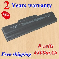 Hot + new 8 Cell Replacement Laptop battery for HP DM842A,DM841A,338794-001,342661-001,345027-001,PP2182D black +gift(China (Mainland))