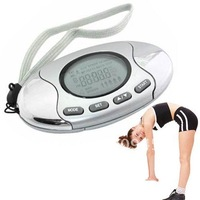 2in1 Pedometer With Fat Calorie Analyzer And Alarm KM 50015