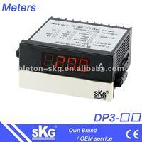DP3 DC AC digital current meter ampere meter