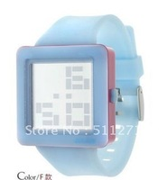 Fashion Brand New Style Cool LED watch BLUE Color