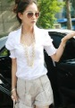 free shipping2012  new style fashion spring shirt Short sleeve shirt hubble-bubble sleeve cultivate one's morality  YJ239