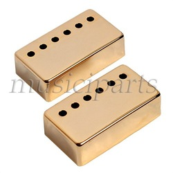 2pcs GOLD Humbucker Pickup Cover 50/52mm for Gibson guitar FREESHIPPING(China (Mainland))