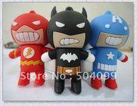 Free Shipping Cool Bat man Shape 2GB,4GB,8GB,16GB,32gb,64gb  USB 2.0 Flash Memory Pen Drive USB flash disk
