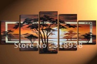 Framed/Free shipping/ Hand-painted Abstract  Group Oil Painting on Canvas Art  home decoration sa-398