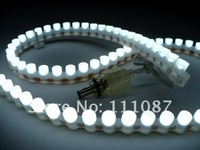 4PCS X  White  PVC Flexible Car LED strip light Waterproof 24 LED lamp 24cm car decoration light led car light free Shipping