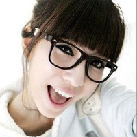 100pcs HOT Fashion Cool Clear Lens Frame Nerd Glasses free shipping