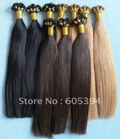 cheaphuman hair extension Brazlian human hair  hand tied hair weft / wholesale  factory outlet  price  10-34''  100g/piece
