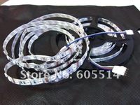 [Seven Neon]free DHL shipping 5M 300leds flexible led strip 5050 LED SMD RGB Strip with 24keys IR remote controller