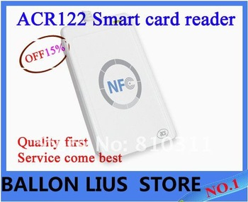 ACR122U NFC Contactless USB Smart Card Reader,free shipping