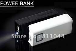 China post free shipping Hot selling wholesale Universal Portable journey mobile power bank (5000mah)(China (Mainland))