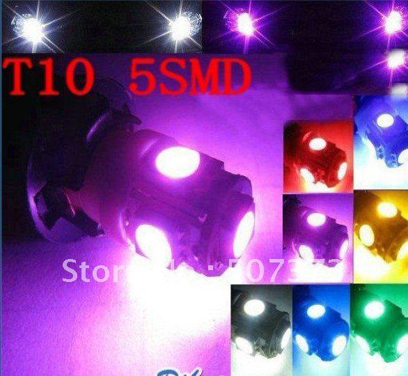 5ag T10 5SMD led car light,stereo vehicle-logo, ODM OEM LAMP LIGHTING LOGO SIGN MARK ,CHRISTMAS VALENTINE'S DAY BIRTH DAY(China (Mainland))