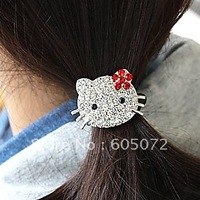 Free shipping lovely holle kitty cat hair ornament hairband headwear hair accessory