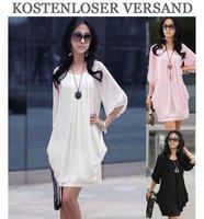 2 PCS New Chiffon Dress Casual Dress Wholesale and Retail Size S M  L XL  XXL  XXXL