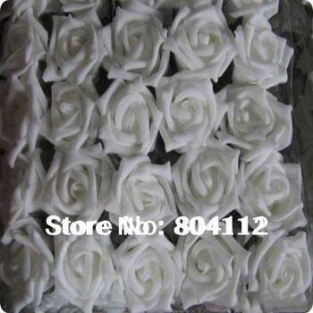 5cm foam roses head ideal Weding Flower Decoration