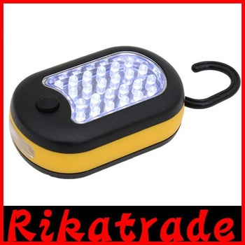 27 LED Work Light Hook Flashlight Perfect for Car, Picnic, Camping