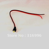 20  Pcs Male 5.5mm/2.1mm Power DC Jack Cable CCTV Camera M4