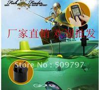 10PCS Free Shipping fish finder radar warning sonar / LCD / ice fishing device