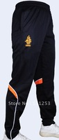 New Style Holland  Professional Training Tapered Leg Black Soccer Pants