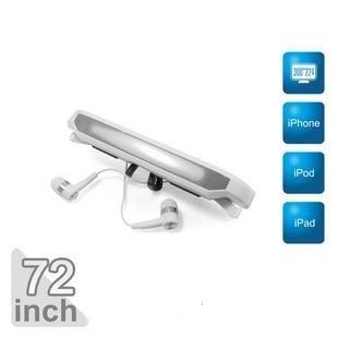 "72"" Virtual Screen Glasses 72inch Eyewear Video Glasses monitor for iPhone/ iPad/ iPod(Hong Kong)"