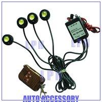 4*1.5W IP68 strobe flash eagle eye light  led daytime running light led car reversing light LP13001