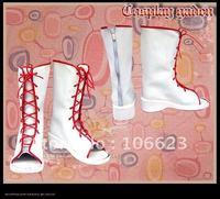 Cheap Wholesale/Retail Long Black Cosplay Shoes&Boots Naruto Haruno Sakura Halloween Chiristmas Party Costume Suit S0106