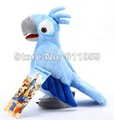 Wholesale - 10 Pcs/lot RIO character Plush Parrots Birds Plush Toy Doll Stuffed Animals , 10 Inch freeship