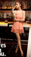 Summer Womens Fashion Party Girl Paillette Chiffon Vest Dress E3776 Drop Shipping