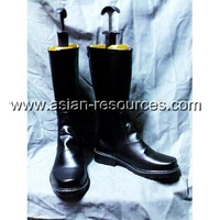 Cheap Wholesale/Retail Long Black Cosplay Shoes&Boots D.Gray Man Bak Chan Halloween Chiristmas Party Costume Suit S0310