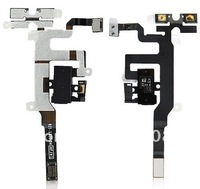 For iphone  4S  Audio Jack  headphone   power   flex cable   replacement