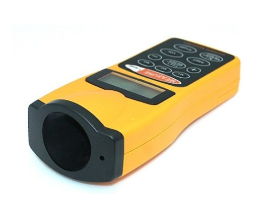 Hot Sale High Accuracy Ultrasonic Distance Meter Measurer with Laser Pointer CP-3007(China (Mainland))