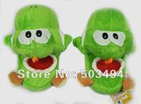 "Free shipping EMS Green yoshi slipper Yoshi slippers Super Mario Yoshi 11"" Adult Soft Plush Stuffed Slippers Anime plush"