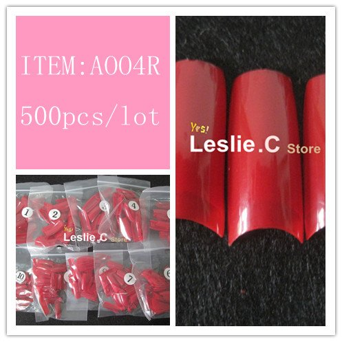 Free shipping whole sale 100 MOSAIC NAIL ART ACRYLIC UV GEL FRENCH TIPS