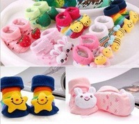 Free Shipping 10Pcs/lot Baby Non Slip Socks,Baby Socks,Baby Floor Socks 18Style Can Be Choose