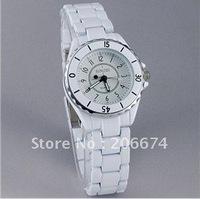 SINOBI 1850 Women's White Dial Stainless Steel Watch (White).Women's Watch free shipping