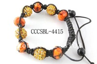Colorful Shambala Ball Bracelet Free Ship Antique Bracelet Jewelry