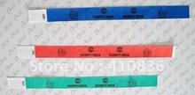Tyvek Wristband, I.D.Wristband, Serial number wristband(China (Mainland))
