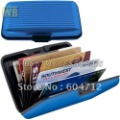 Free shipping [12pcs/lot] 2012 New arrival popular metal aluminum card &ID holders(China (Mainland))