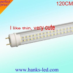 T8 240leds 120cm 18w in store,led lamp,milk cover or transparent cover free shipping  20pcs/lot
