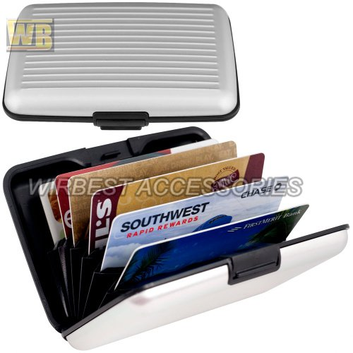 Free shipping [20pcs/lot] 2012 New arrival popular metal aluminum card &ID wallets(China (Mainland))