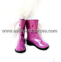 Cheap Wholesale/Retail Cosplay Shoes&Boots Fate stay night Illyasviel von Einzbern Halloween Chiristmas Party Costume S0601