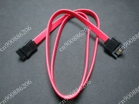 50 CM Red 7 Pin SATA Male to Female Extension Cable