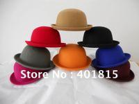 100% Women's Soft&Crushable Wool felt Fedora, Wool Felt Hat, Formal Hat
