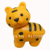 Spelendid Zoo  low price retail animal promotion eraser for school/officce use