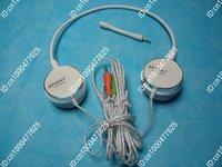 PC Microphone Headphone Headset MSN Skype Talk  3.5mm  Free Shipping+Drop Shipping