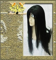 Wholesale Free Shipping Hot Selling Cheapest Halloween Naruto Cosplay Wig Neji Wig without headband