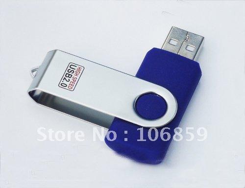 OEM Swivel Usb Disk 1G 2G 4G 8G 16GB with Free Shipping(China (Mainland))