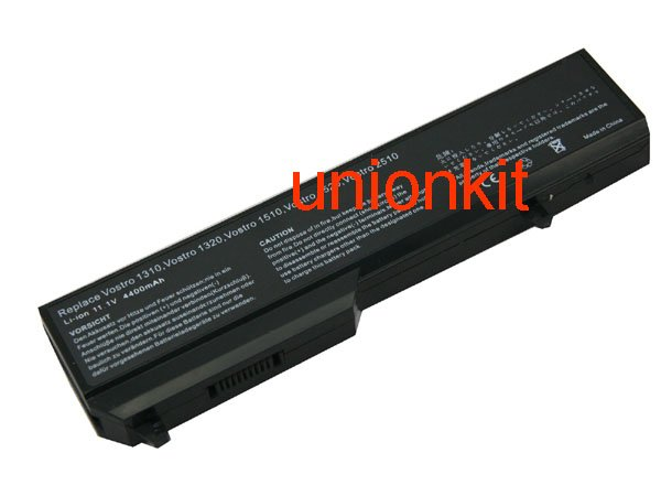 Free Shipping New Laptop Batteries 0K738H 0N950C 0T112C 0T114C 0T116C Replacement for Dell Vostro 1310 Vostro 1320 Vostro 1510(China (Mainland))